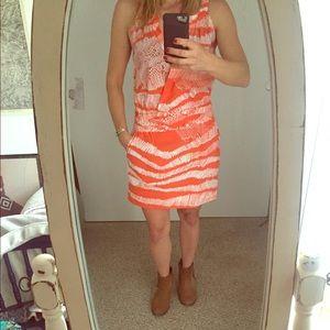 BCBG summer dress with pockets
